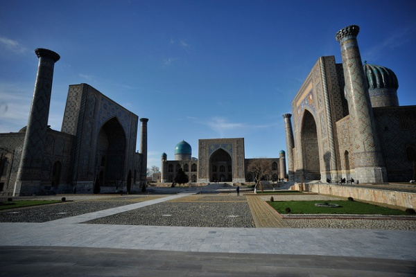 Mosquée Bibi Khanym Samarkand Ouzbékistan