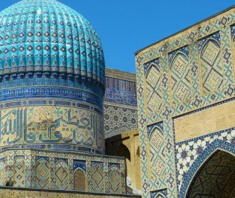 Ouzbékistan samarcande Adeeb Khalid