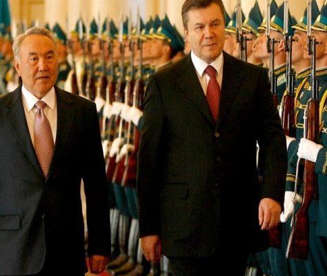 Yanoukovitch et Nazarbayev
