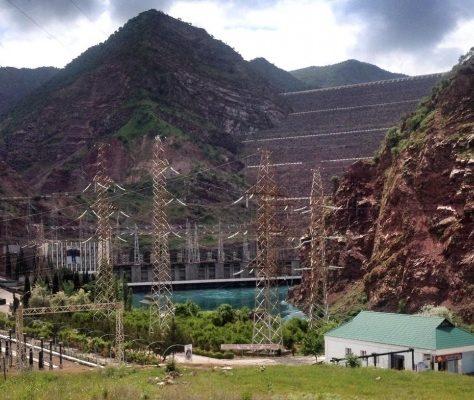 Le barrage de Nourek au Tadjikistan
