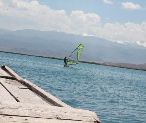 voile, Balyktchi, Kirghizstan, club nautique
