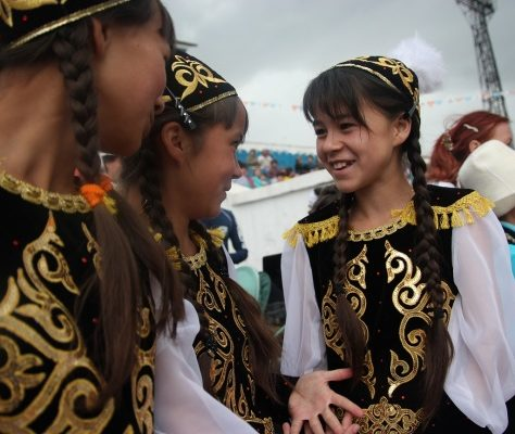 Kirghizstan, Karakol, Sabantuy, fête