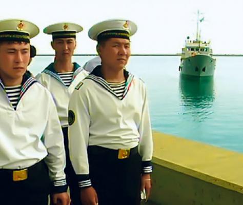 Marine du Kazakhstan