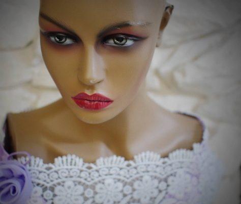 Photo visage mannequin
