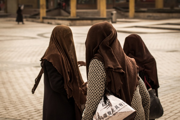 Femmes voile ouïghoures islam