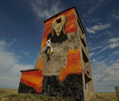 Kazakhstan Sémipalatinsk Street-art