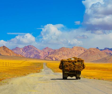 New silk road nouvelle route de la soie