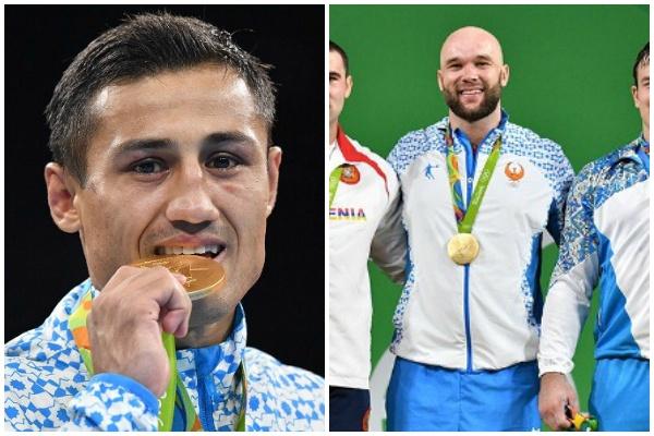 Athlètes ouzbékistan médailles Or Rio 2016 Jeux Olympiques JO