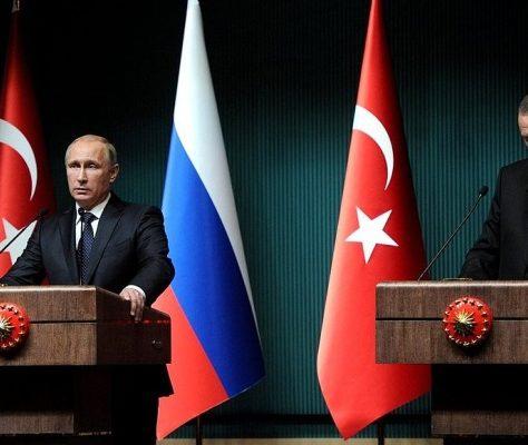 Poutine Erdogan Russie Turquie Asie centrale