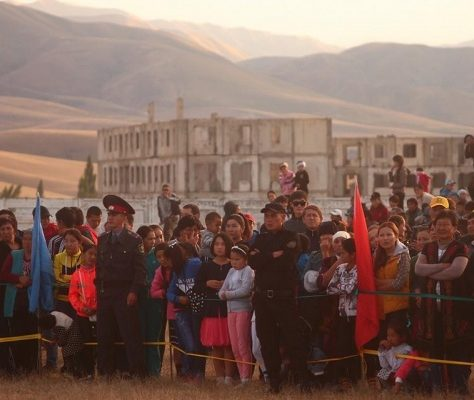 Ata Djourt Kemin rassemblement Kirghizstan campagne 2015
