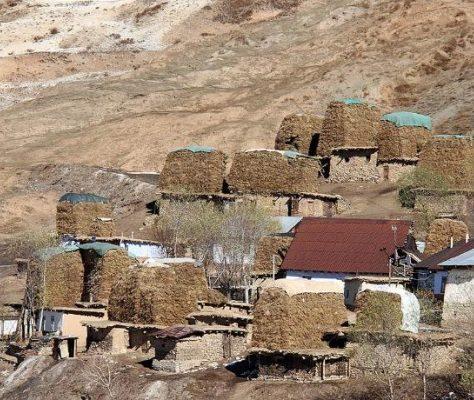 Tadjikistan Anzob Montagnes Villages